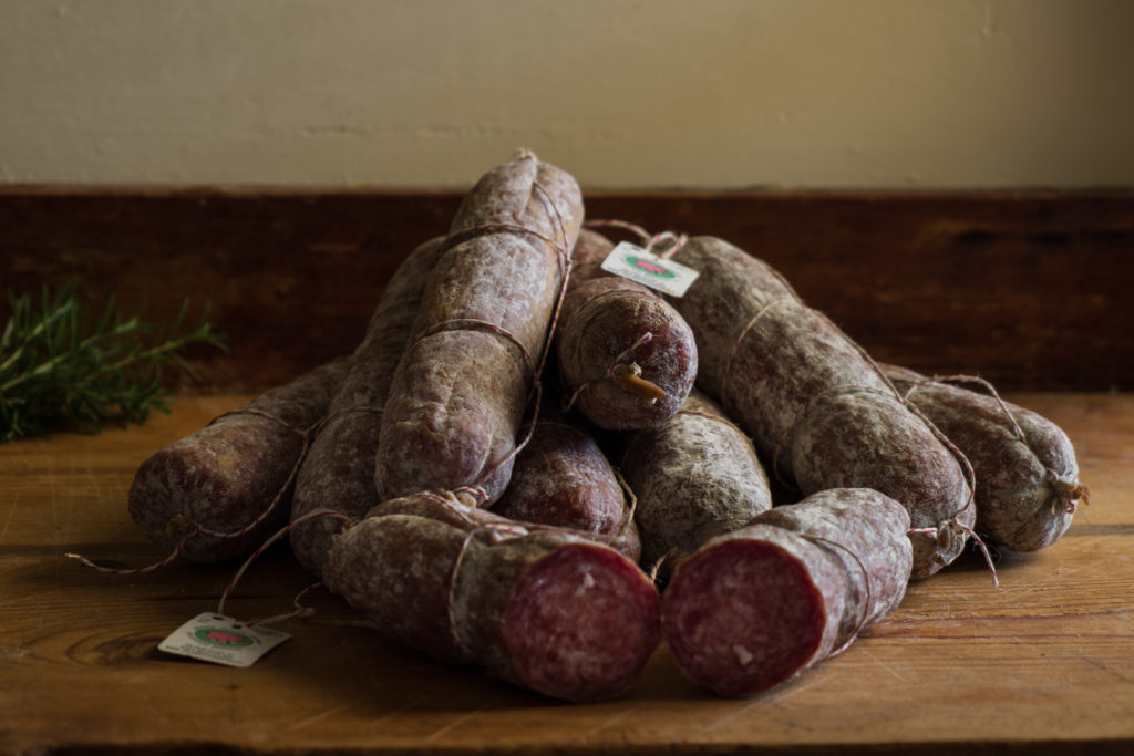 Salame bianco/rosso